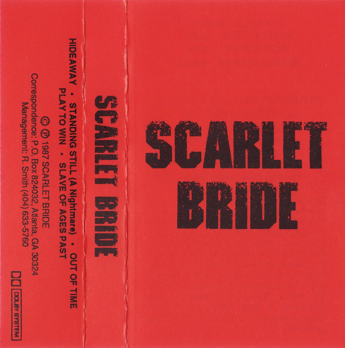 Scarlet Bride Cover