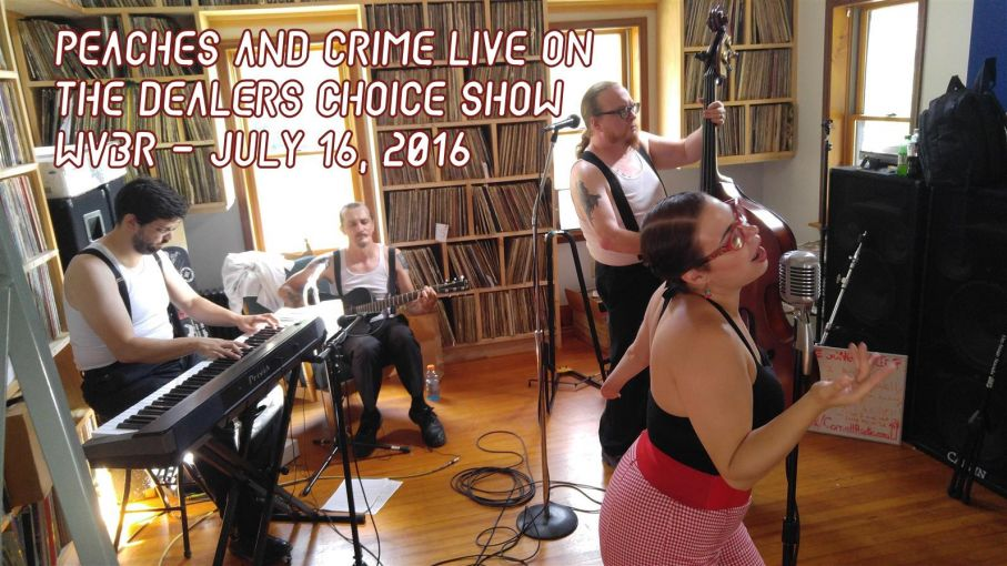 Peaches and Crime on The Dealer's Choice Show - July 16, 2016